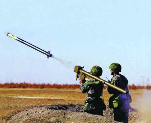 PLA's FN-6 Shoulder Fired Surface To Air Missile
