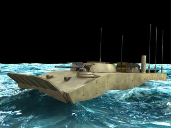Amphibious Combat Vehicle concept