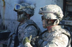 advanced body armor, helmets, and eyewear
