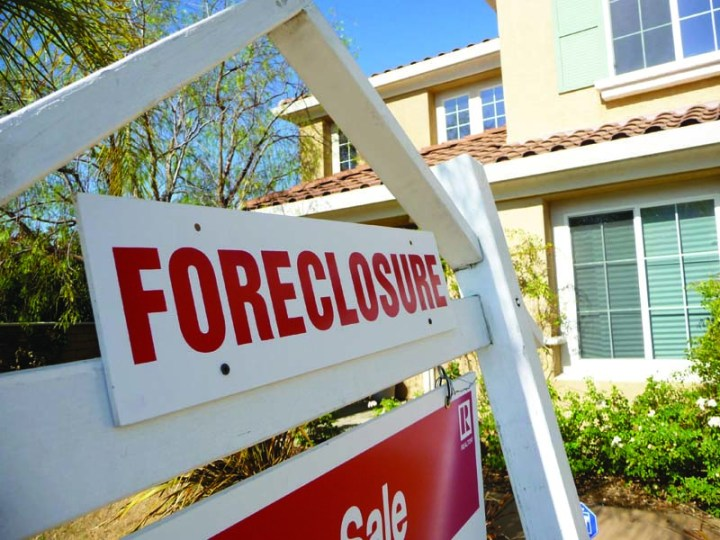 Service members improper foreclosure