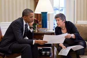 Obama and Napolitano