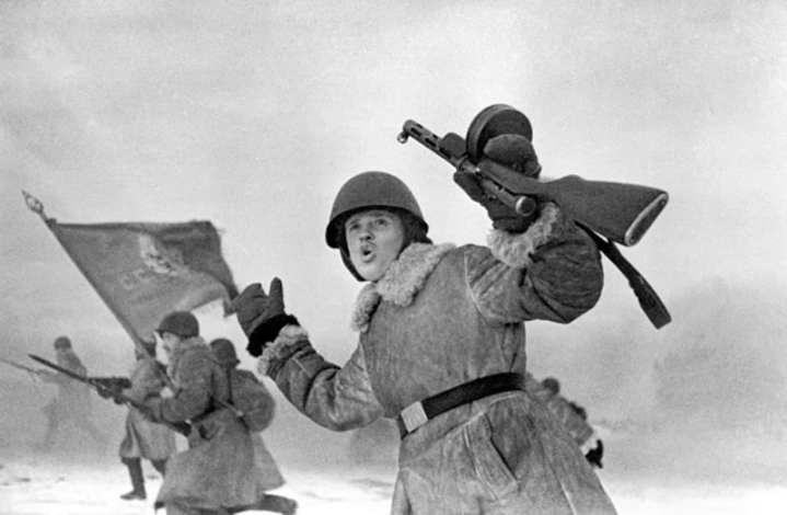 Soviet Offensive Near Leningrad