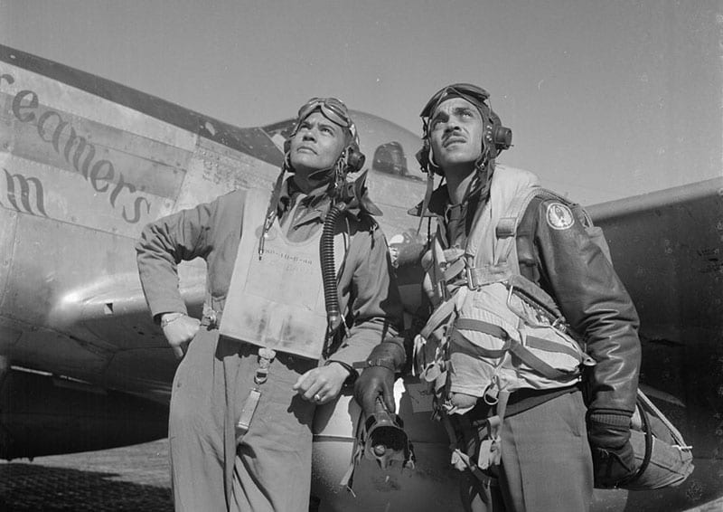 Red Tails Historical Photos