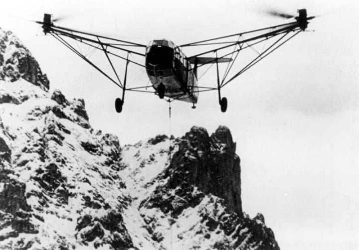 Fa 223 Drache mountain testing
