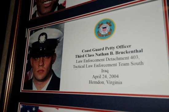 Coast Guard Petty Officer 3rd Class Nathan B. Bruckenthal