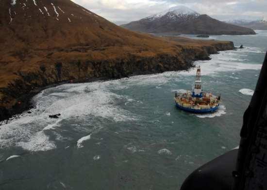 Drilling ship Kulluk