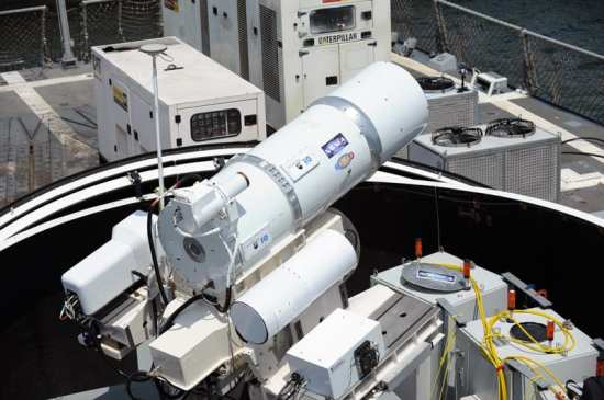 The Laser Weapon System (LaWS)