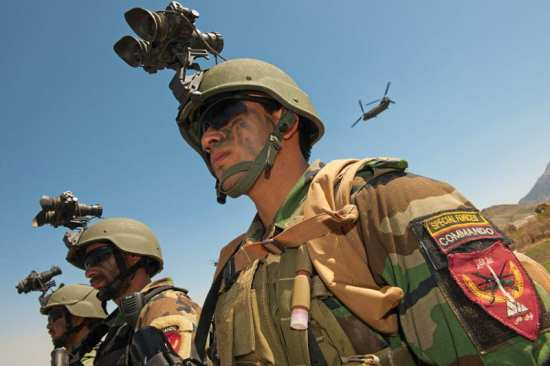 Afghan special forces