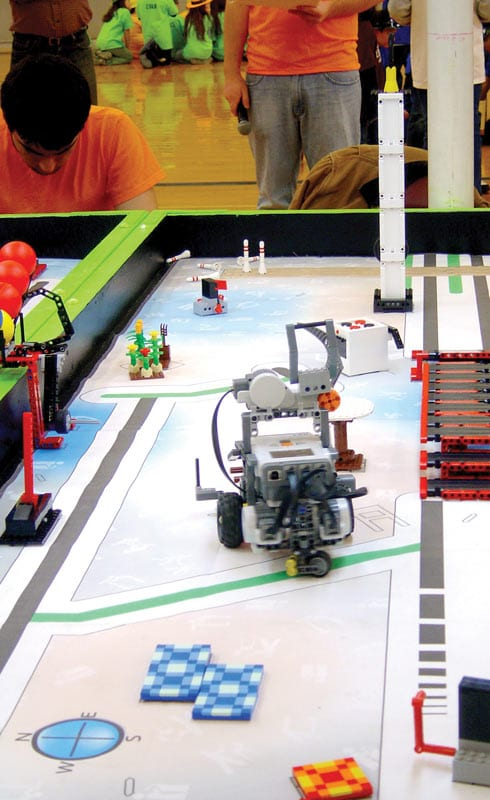 FIRST® LEGO® League (FLL) competition 2012