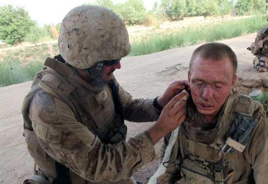 Combat Facial Trauma
