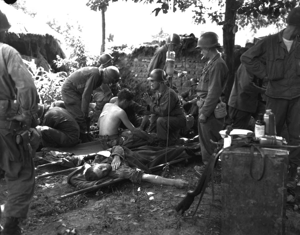 Soldiers Recall Korean War Korean War Wounded Soldiers