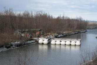 Lightweight Modular Causeway System