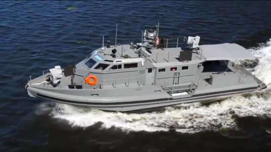 Safe Boats International 65-Foot Coastal Command Patrol Boat