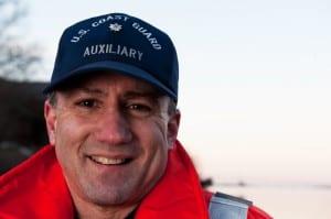Arnie Geller, a Coast Guard auxiliarist. U.S. Coast Guard photo by Petty Officer 3rd Class Ross Ruddell