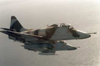 TA-4 Adversary aircraft