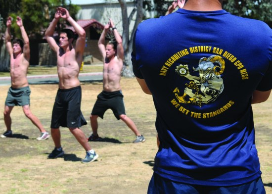 Navy Special Warfare physical screening test