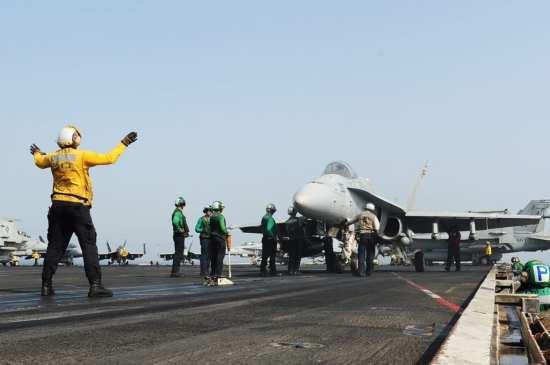 Bush Hornet airstrikes