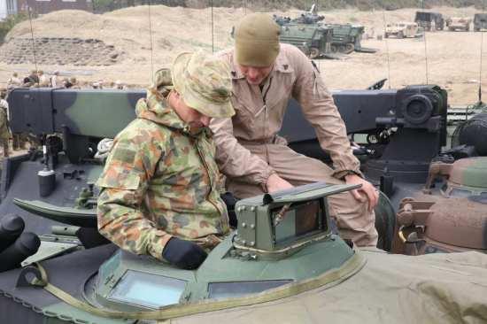 Marine, Australian-AAV7
