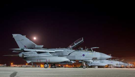 RAF Tornados, Akrotiri