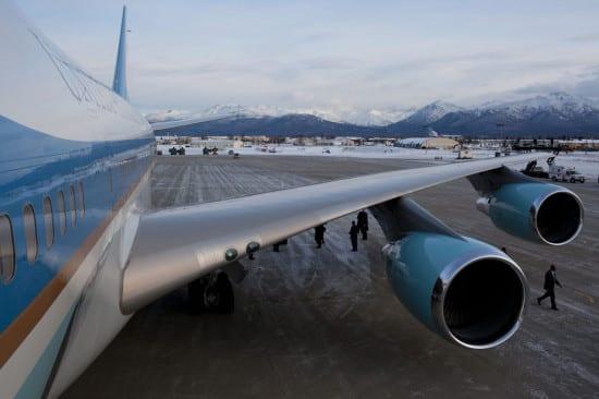 VC-25A Air Force One engines