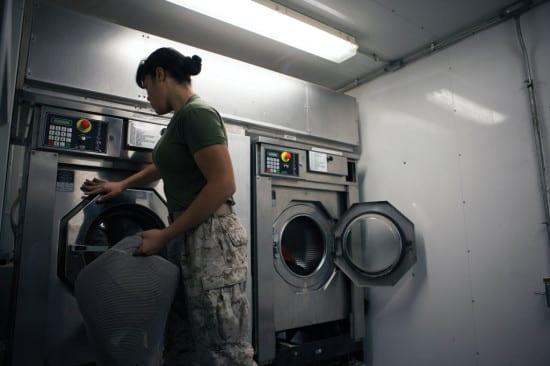 Washing machine EDS