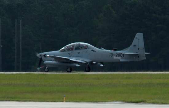 Afghan A-29 at Moody