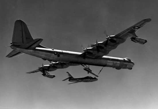 B-36 and F-84F