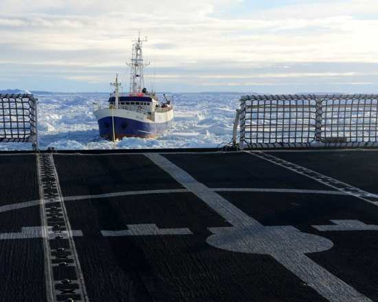 Antarctic Chieftain rescue
