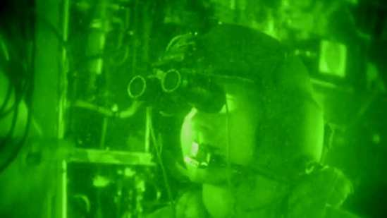 Special Forces Night Helocast