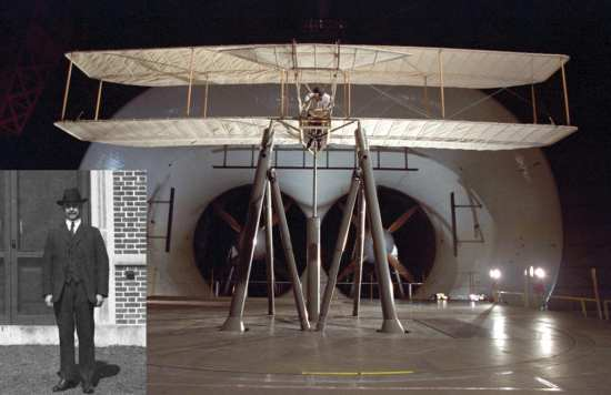 Flyer Full Scale Wind Tunnel