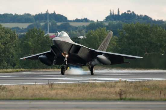 F-22 Raptors Arrive in Europe | Video