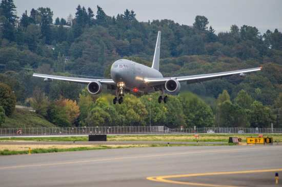 KC-46A Pegasus First Flight | Video