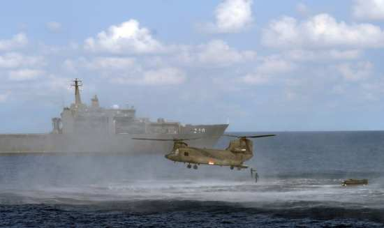 RSS Endeavour and Chinook