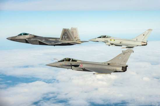 USAF, RAF, and Armee de l'Air in Trilateral Exercise