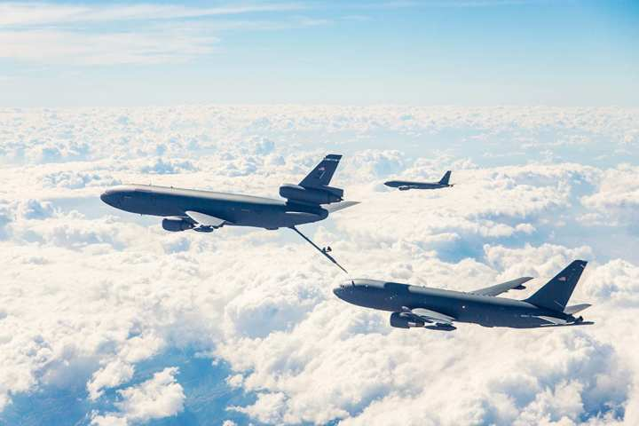 KC-46A and KCs