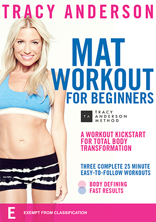 Tracy Anderson Mat Workout for Beginners