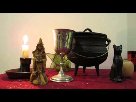ASMR witchcraft + Paganism show and tell (softly spoken)