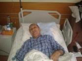 Kaşüstü Hastanesinde Yatıyor