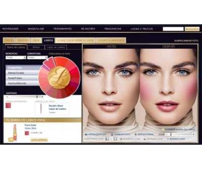 Maquillaje virtual… ahora es posible con Estée Lauder