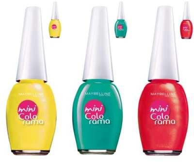 Uñas divertidas con los nuevos tonos de Mini Colorama, ¡comprobado!