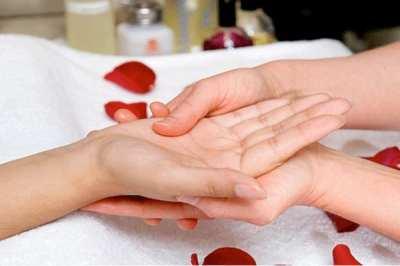Masajes también para tus manos