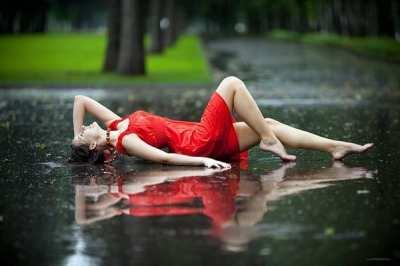 Protege tu pelo cuando llueve