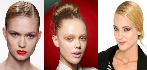 recogido Peinados que se llevarán esta Primavera Verano 2012