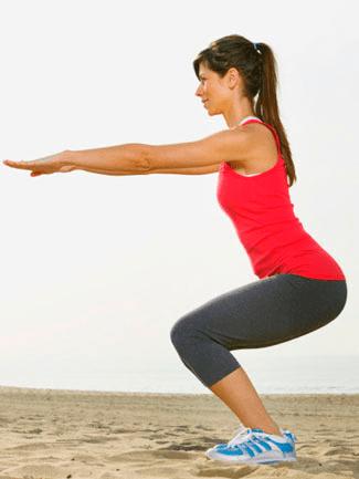 sentadillas Operación Verano: 4 ejercicios para un culo perfecto