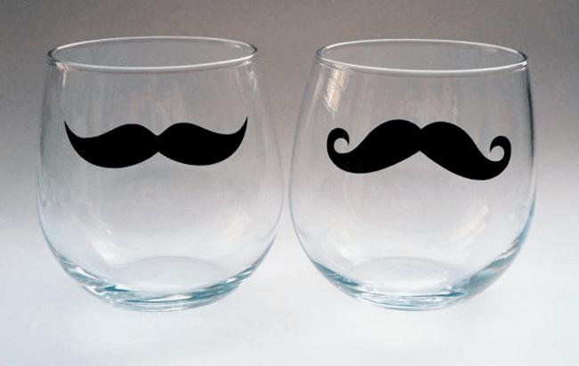 m9 Ideas con mucho bigote, ¡vivan los complementos!