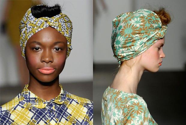 tendencia40 Tendencias peinados primavera verano 2013: Pañuelos en la cabeza