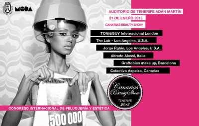Canarias Beauty Show 2013, luchando contra el cáncer por una buena causa