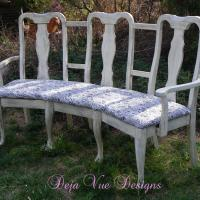 Triple Sitter! Chair Upcycle