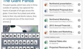 Ya disponible Office Mobile para iPhone en la App Store española