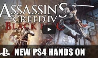 Gameplay de la versión para PS4 de Assassin's Creed IV: Black Flag